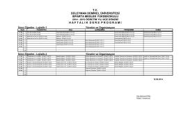 Lojistik_İÖ - Isparta Meslek Yüksekokulu