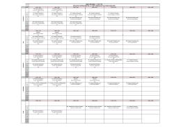 KİMYA BÖLÜMÜ ( II. ÖĞRETİM) 2014-2015 EĞİTİM