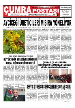 Günlük Tarafsız Siyasi Yerel Gazete