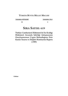 619 - Türkiye Büyük Millet Meclisi