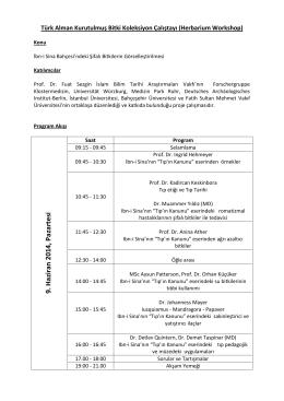 Ayrıntılı bilgi - Prof. Dr. Fuat Sezgin İslam Bilim Tarihi Araştırmaları