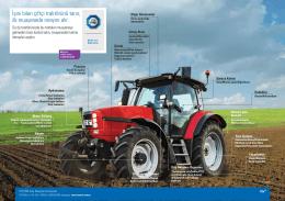 İşini bilen çiftçi traktörünü tanır, ilk muayenede onayını alır.