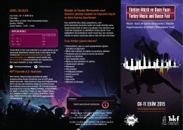 Online Broşür - türkiye müzik ve dans