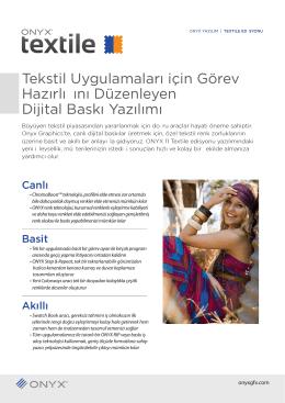 Tekstil Uygulamaları için Görev Hazırlığını Düzenleyen Dijital Baskı