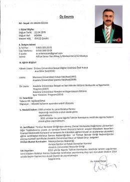 av.erkan - Türkiye Barolar Birliği