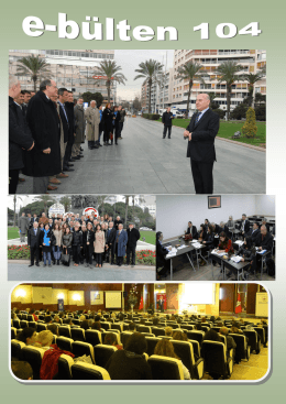Sayı 104 - İzmir Serbest Muhasebeci Mali Müşavirler Odası