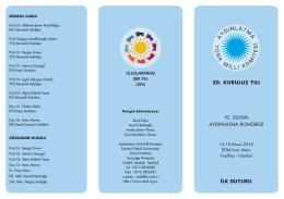 10. ulusal aydınlatma kongresi 20. kuruluş yılı ilk duyuru