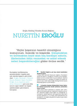 NURETTİN EROĞLU - Young Business