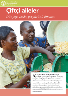 Çiftçi aileler: Dünyayı besle, yeryüzünü önemse