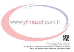 www.yilmazet.com.tr