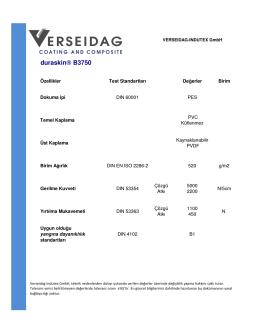 B3750 Verseidag Quality Form