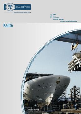 Kalite - Rina Services