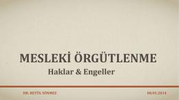 Betül Sönmez - İstanbul Kanuni Sultan Süleyman EAH