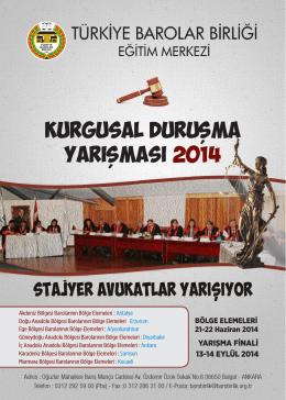 Broşür için tıklayınız - Türkiye Barolar Birliği