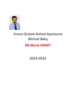 Dosya - Dr.Ahmet Ozansoy
