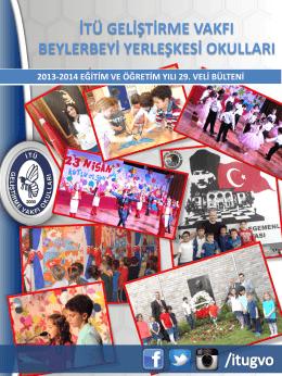 veli bülteni-29 - İTÜ Geliştirme Vakfı Okulları