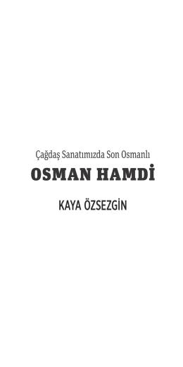 OSMAN HAMDİ