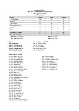 2013-2014 dönem ı