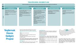 TR83 Bölgesel Gelişme Ana Planı Broşürü