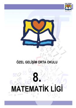 8.Matematik Ligi Şartnamesi