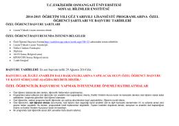 tceskişehir osmangazi üniversitesi sosyal bilimler enstitüsü 2014