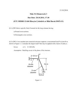13.10.2014 Mak 312 Homework 3 Due Date: 20.10.2014, 17:30