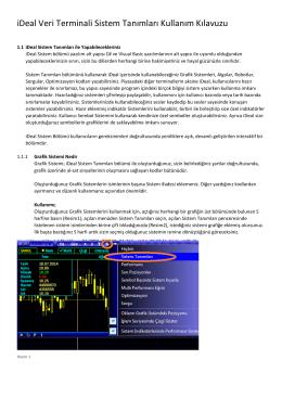 iDeal Sistem Genel Kullanım Klavuzu (PDF)