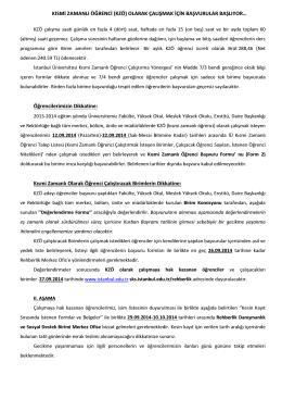 Ä°lan metni_docx - İstanbul Üniversitesi