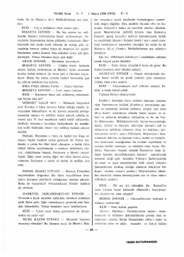 Meclisi Ayan İ Mayıs 1328 (1912) C: 1 vesile ile de Huzur-u Âli