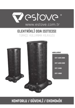 konforlu / güvenli / ekonomik elektrikli oda ısıtıcısı