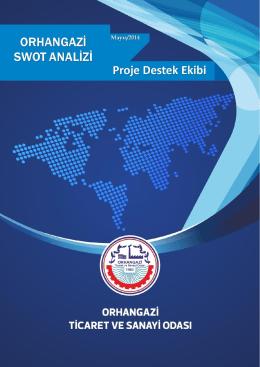 Orhangazi Swot Analizi - Orhangazi Ticaret ve Sanayi Odası