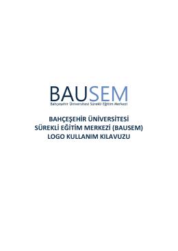 bausem logo kullanım klavuzu