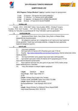 Yarış ilanını PDF formatında indirmek için tıklayınız