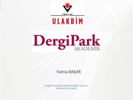 Fatma BAŞAR - DergiPark