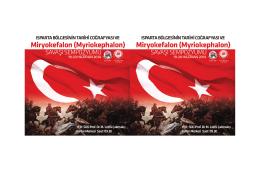 Miryokefalon Savaşı Sempozyum davetiye