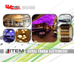 GERGi TAVAN SiSTEMLERi 2014-2015