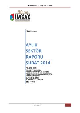 aylık sektör raporu şubat 2014