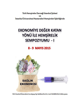 Sempozyuma davet - thd istanbul şubesi