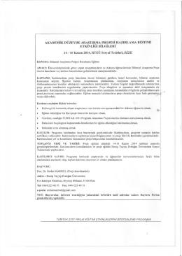 Bilgi Formu - Bayburt Üniversitesi