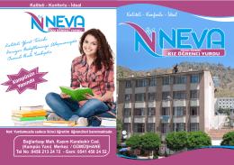 Özel NEVA Yükseköğrenim Kız Öğrenci Yurdu