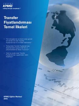 Transfer Fiyatlandırması Temel İlkeleri