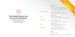 TPK 85. kuruluş yıl dönümü Eğitim Toplantısı