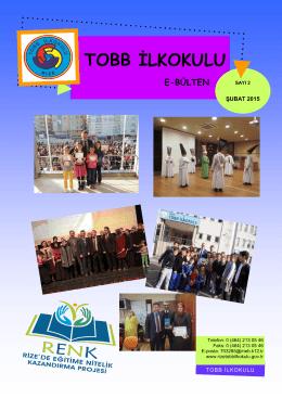 TOBB İLKOKULU - Milli Eğitim Bakanlığı