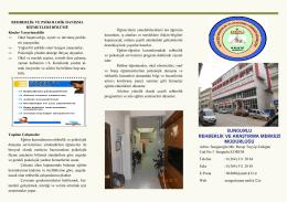 Kurum Tanıtım Broşürü - Milli Eğitim Bakanlığı