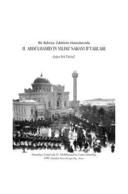Bir Bahriye Zabitinin Hatıralarında II. Abdülhamit`in Yıldız Sarayı
