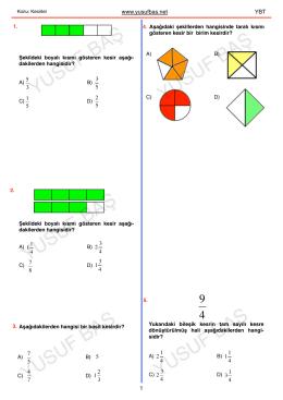 kesirler (5. sınıf) pdf