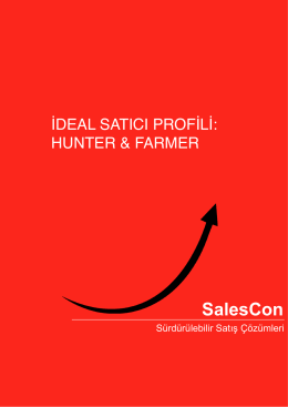 Ideal Satıcı Profili Hunter Farmer