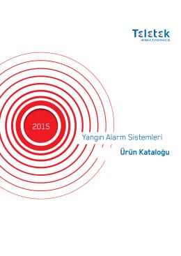 Ürün Kataloğu Yangın Alarm Sistemleri 2015