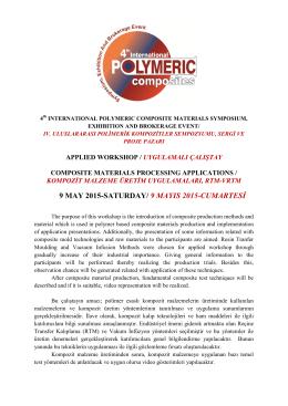 Uyg. Çalıştay Programı