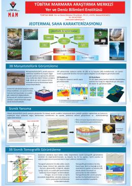 Tanıtım (Türkçe) - yer ve deniz bilimleri enstitüsü
